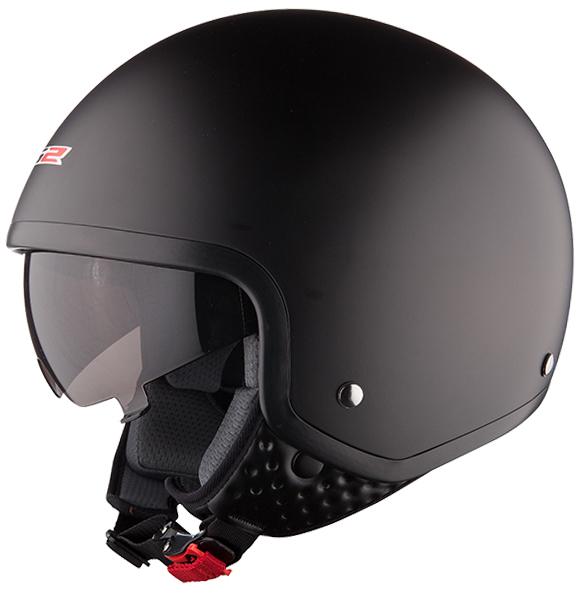 Jet helmet LS2 OF561 Wave Matte Black