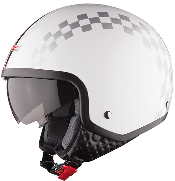 Jet helmet LS2 OF561 Dinoco White