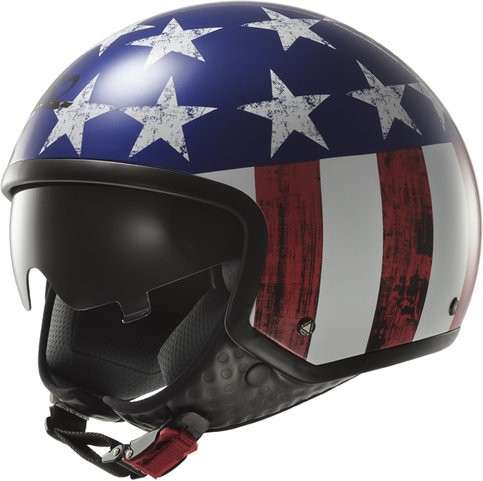 LS2 OF561 Wave Raw jet helmet USA