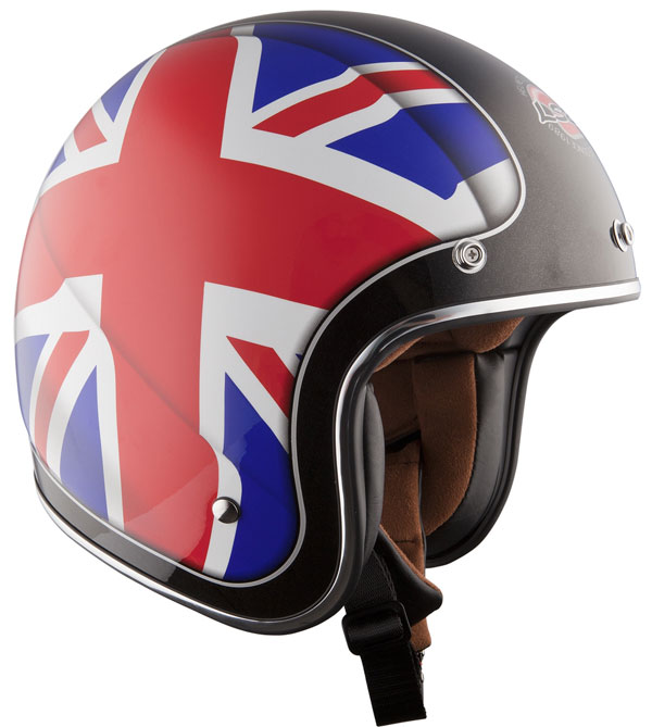 Helmet LS2 OF583 fiber Union Jack