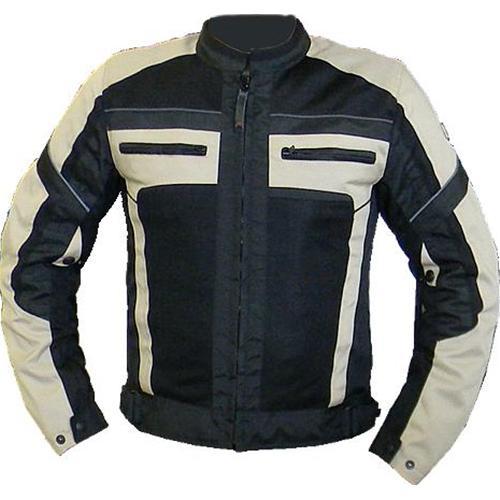 Giacca moto estiva Jollisport Macum Air nero beige