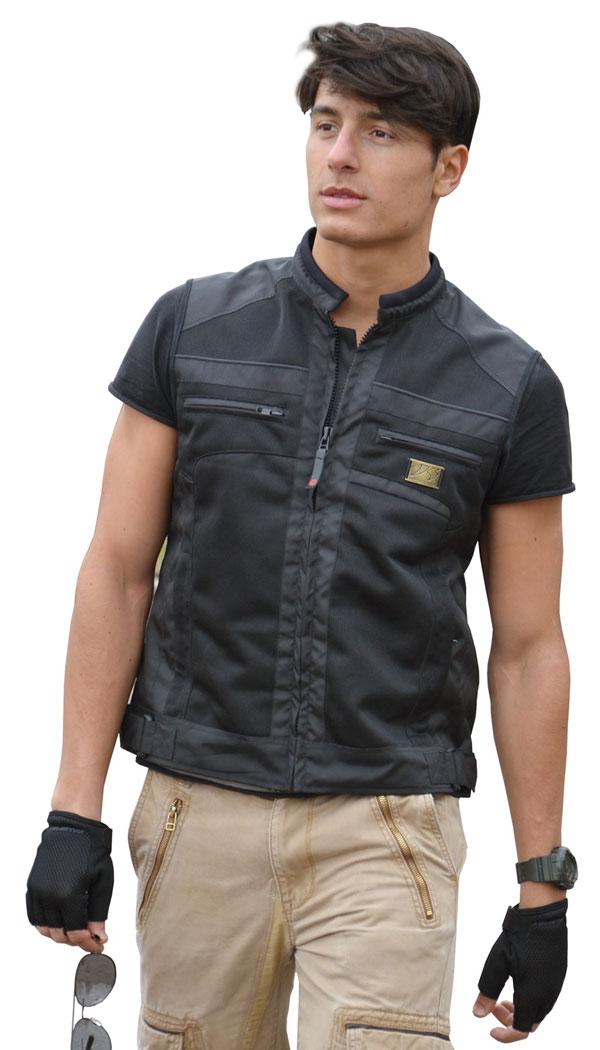 Pick up black vest perforated Jollisport