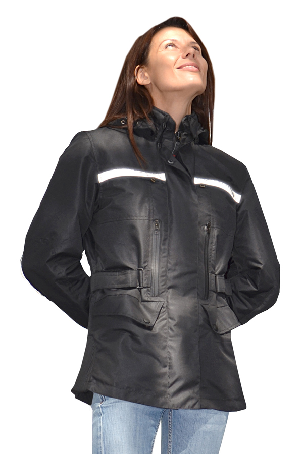 Black motorcycle jacket woman Jollisport Page