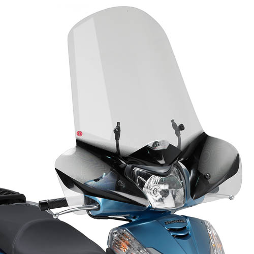 Parabrezza specifico 307A per Honda SH 300i 59 x 72,5 cm