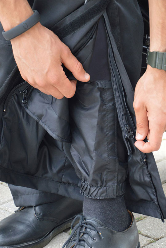 Jollisport Pit Stop over trousers Black