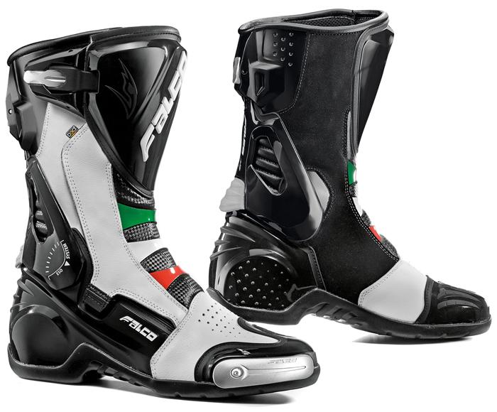 Stivali moto Falco Eso Pro 2 con scarpetta D3O Italia