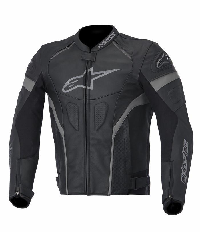 Alpinestars GP Plus R leather jacket black anthracite