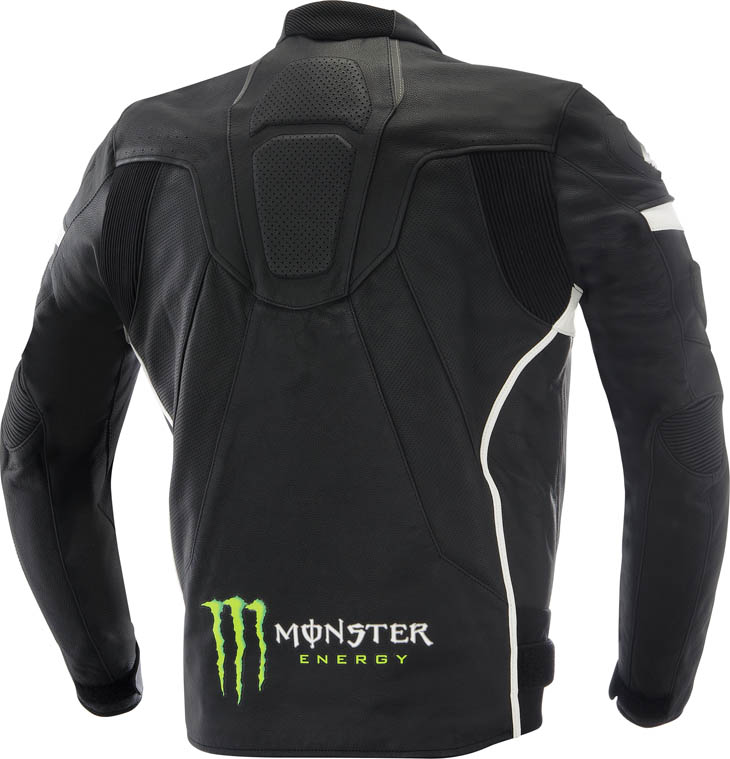Giacca moto pelle Alpinestars Monster Scream