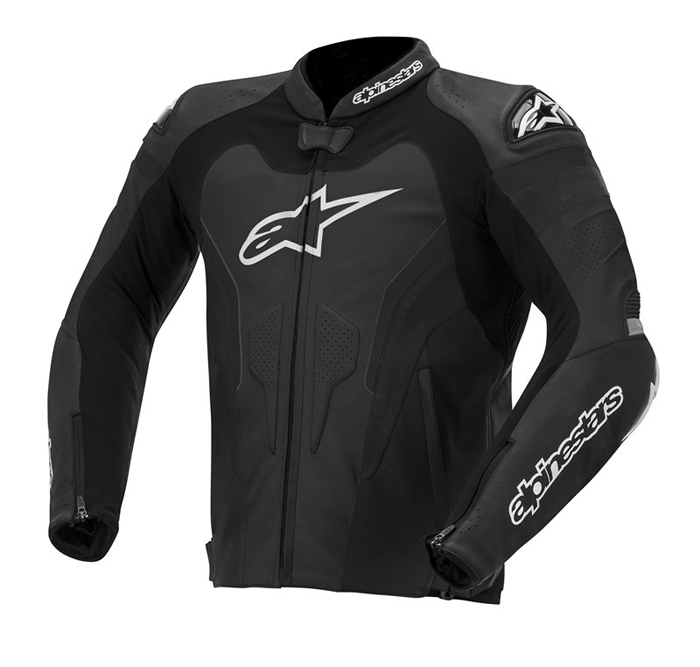 Alpinestars GP Pro leather motorcycle jacket Black