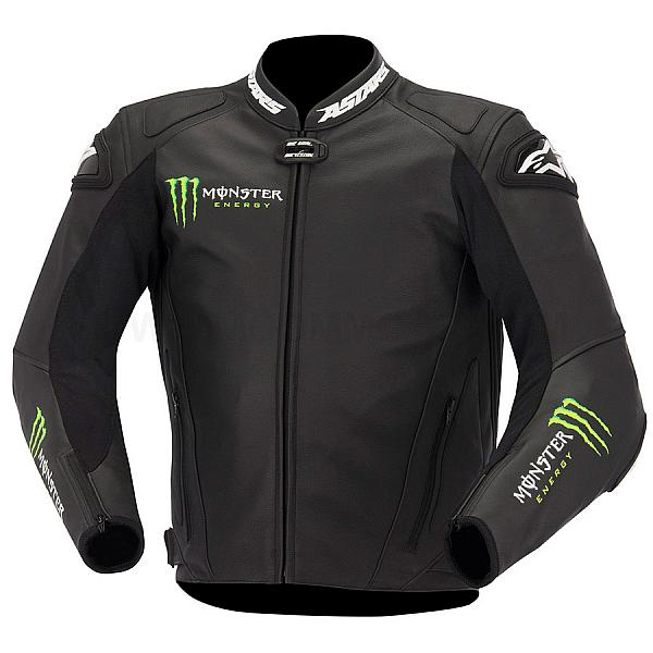 Motorcycle Leather Jacket Alpinestars GP-M Pro Monster