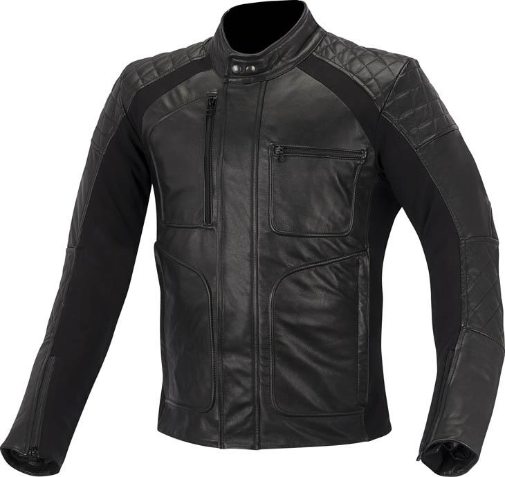 Alpinestars Hoxton leather jacket Black
