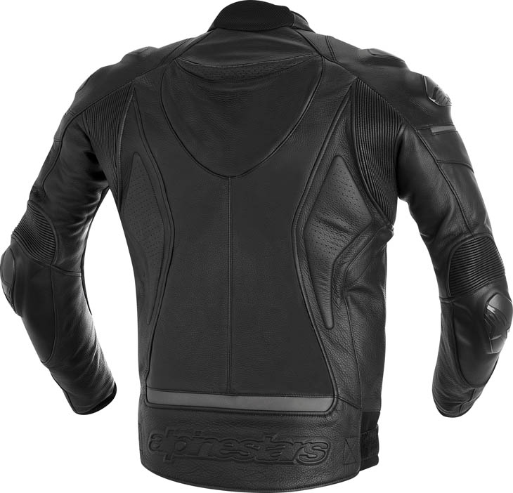 Alpinestars Phantom leather jacket Black