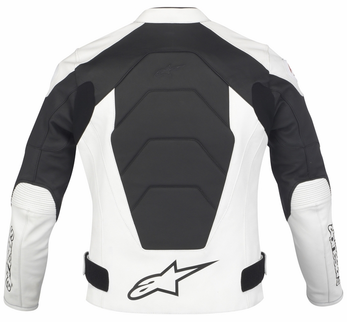 Women leather motorcycle jacket Alpinestars Stella GP Plus