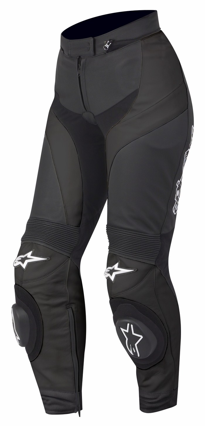 Women leather motorcycle pants Alpinestars Stella GP Plus