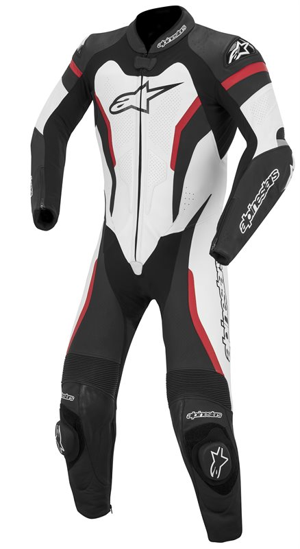 Alpinestars GP Pro leather motorcycle suit Black White Red