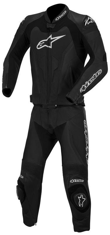 Divisible leather biker suit Alpinestars GP Pro Black 2piece