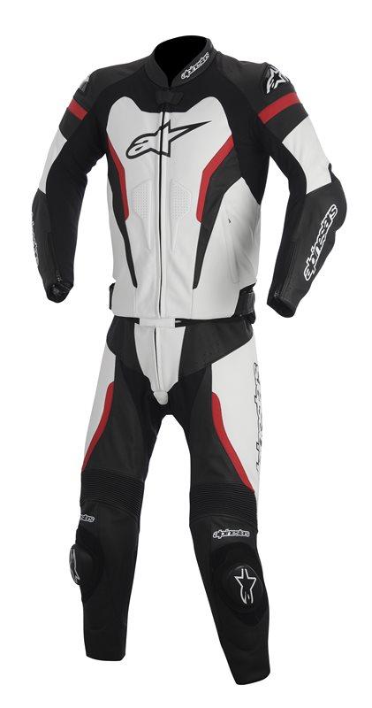 Tuta moto pelle divisibile Alpinestars GP Pro 2piece Nero Bianco