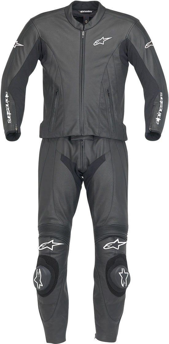 ALPINESTARS Monza leather suit two pieces col. black