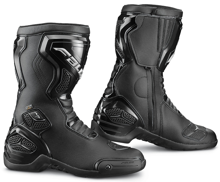 Motorcycle Boots Falco Oxigen 2 WTR Black