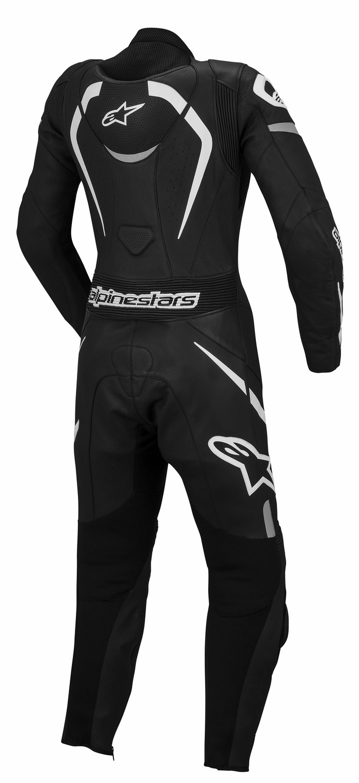 Women leather motorcycle suit Alpinestars Stella Black Mot