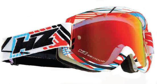 Occhiali cross HZ GMZ2 Blazing Rosso