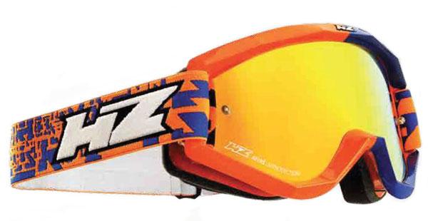 Occhiali cross HZ GMZ3 Fifty Arancio Blu