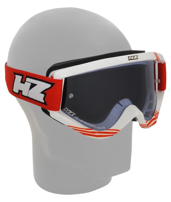 Occhiali cross HZ GMZ3 Dug Bianco