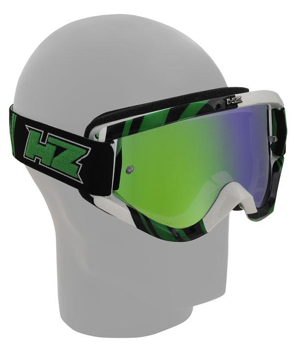 Occhiali cross HZ GMZ3 Tornado Verde