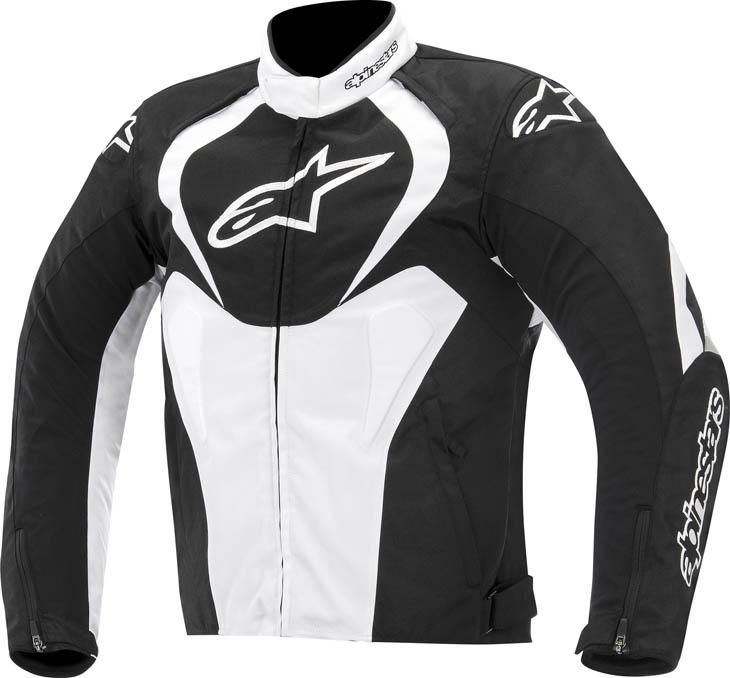 Alpinestars T-Jaws WP jacket Black White