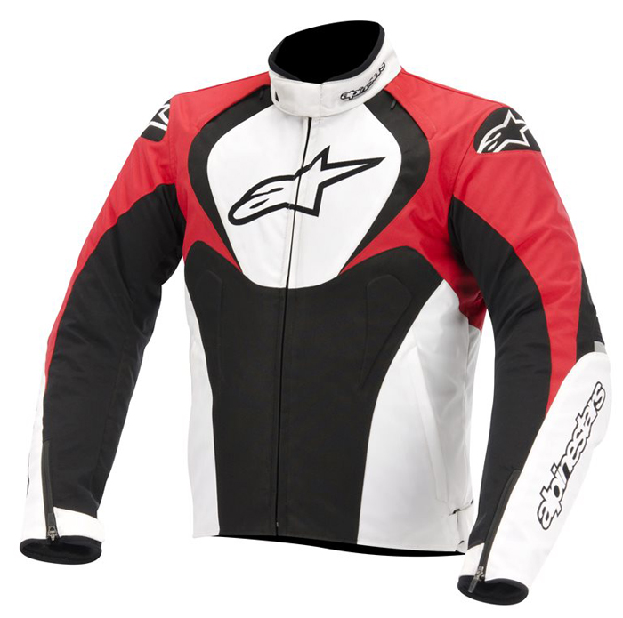 Jacket Alpinestars T-Jaws Waterproof Black White Red