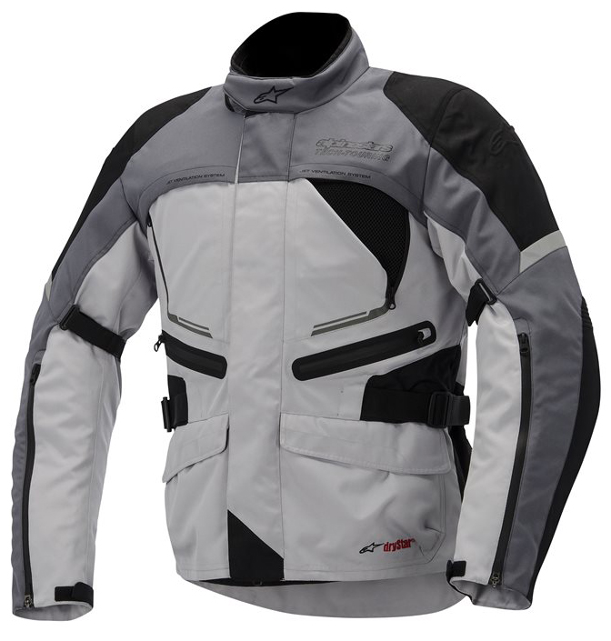 Valparaiso Alpinestars Drystar Jacket Grey Black