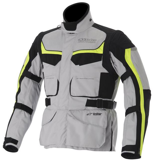 Alpinestras Calama Drystar Jacket Motorcycle Neon Grey Yellow