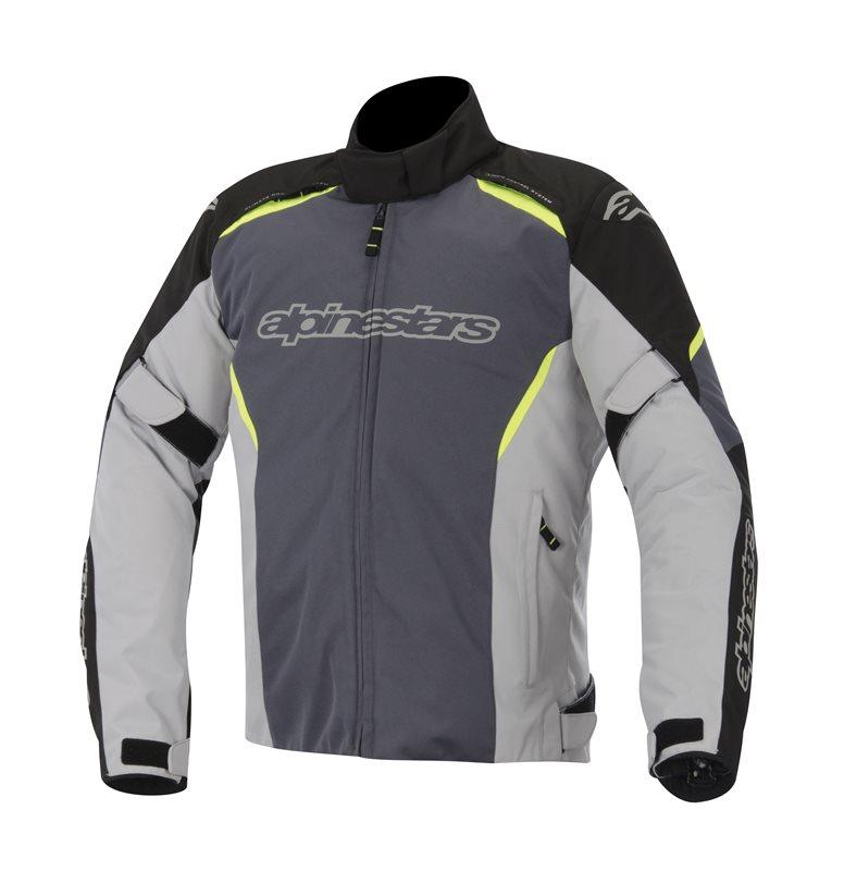 Alpinestars Gunner WP jacket Black Grey Yellow