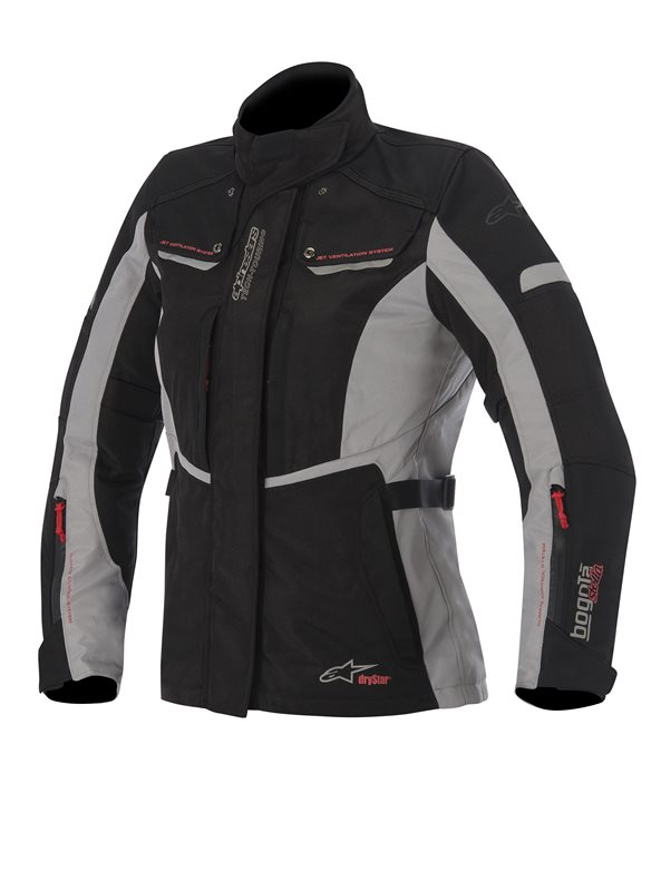 Alpinestars Stella Bogota woman jacket Black Grey