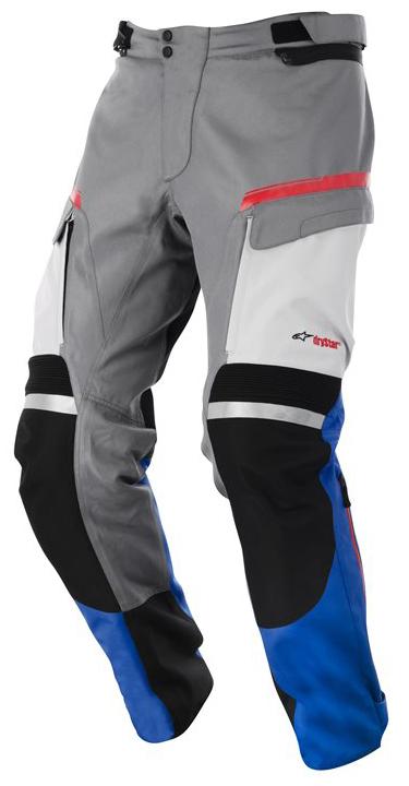 Valparaiso Drystar Pants Alpinestars Grey Blue Red