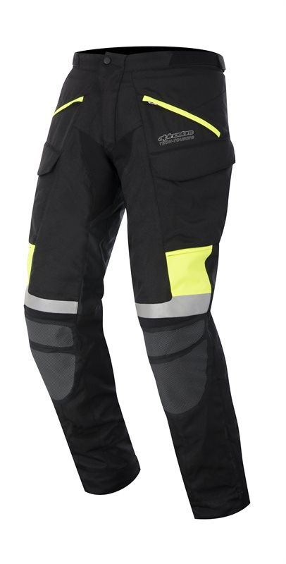 Calama Drystar Pants Alpinestars Black Neon Yellow