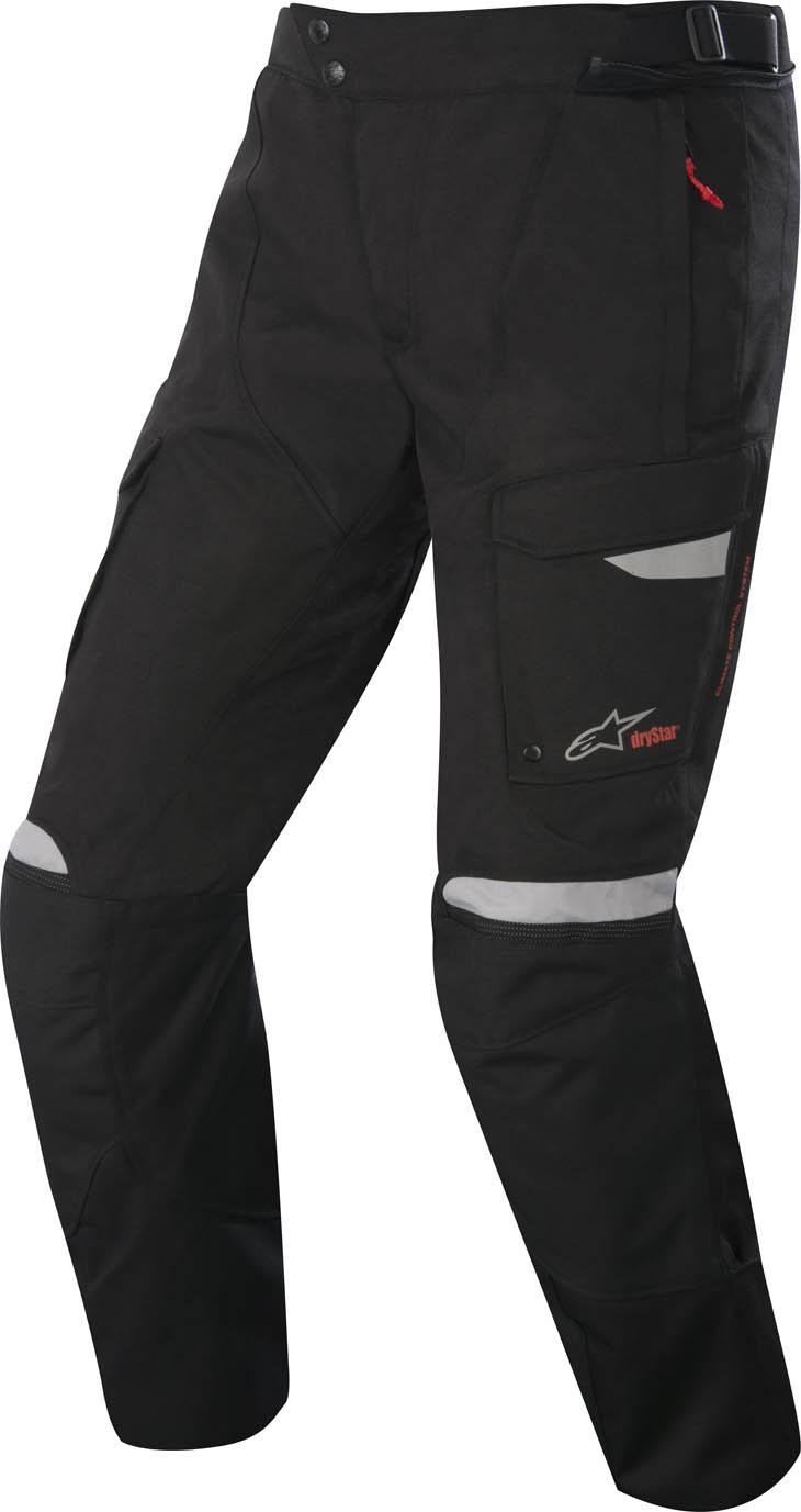 Pantaloni moto Alpinestars Bogota Drystar Nero Grigio