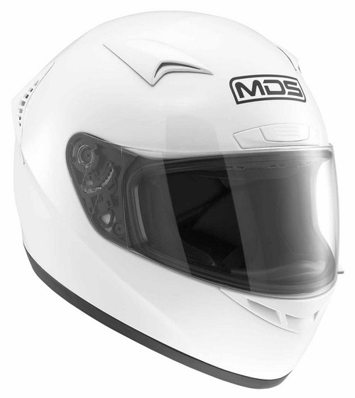 Casco moto Mds by Agv M13 Mono bianco