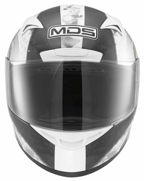 MDS by Agv M13 Multi Ronin full-face helmet white gunmetal