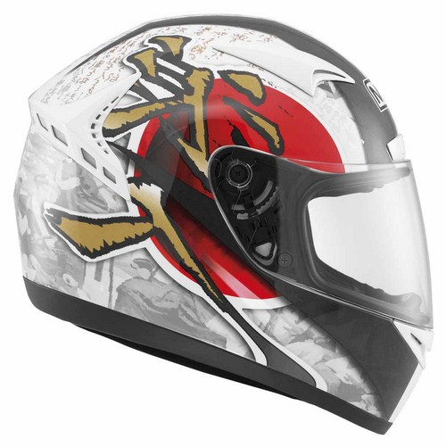 MDS by Agv M13 Multi Ronin full-face helmet white red
