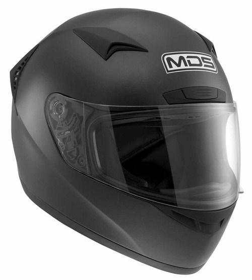Casco moto Mds by Agv M13 Mono nero opaco