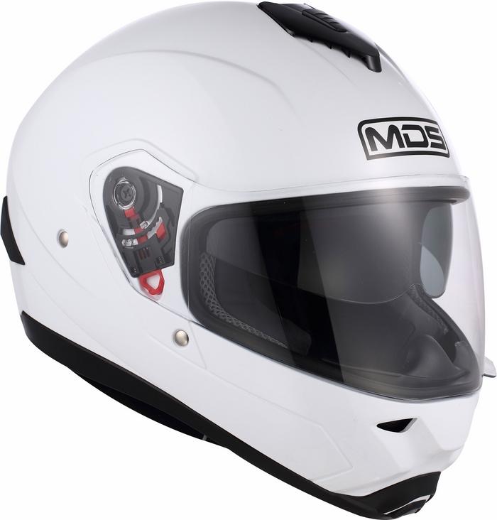 Casco moto Mds by Agv Fullsun Mono bianco