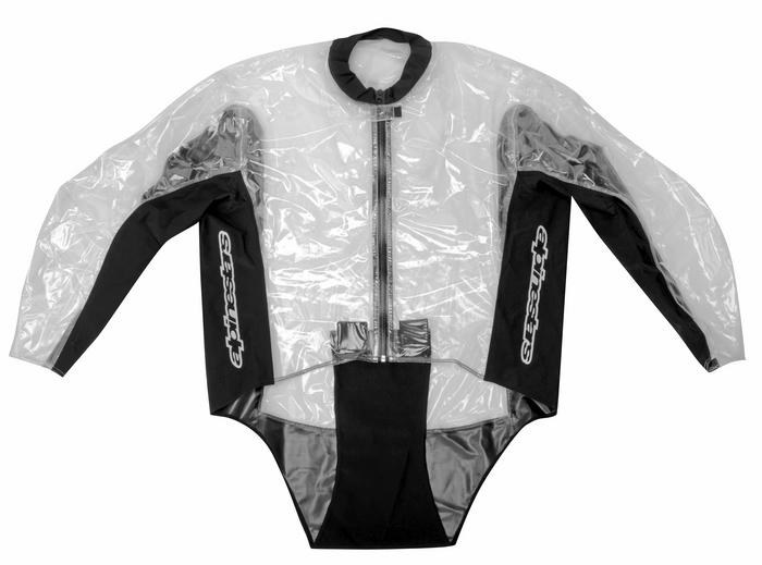 Alpinestars Racing Rain Rain Suit divisible 2piece Transp