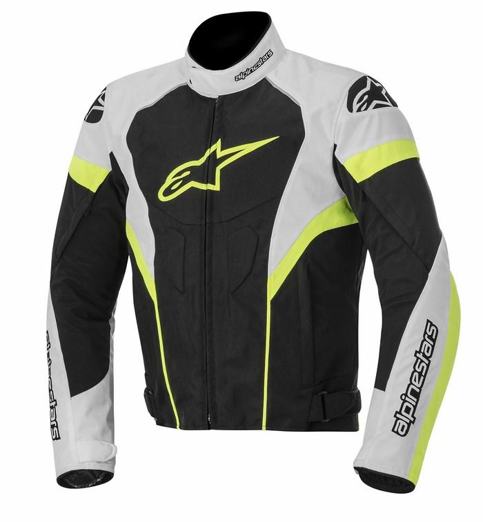 Alpinestars T-GP Plus R jacket black white yellow fluo