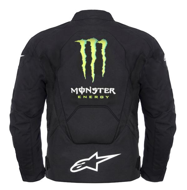 Alpinestars T-Scream Air Monster jacket black-green