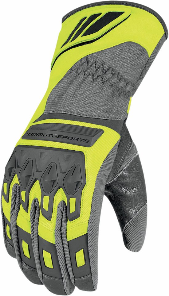 Waterproof Gloves Icon Citadel Yellow fluo