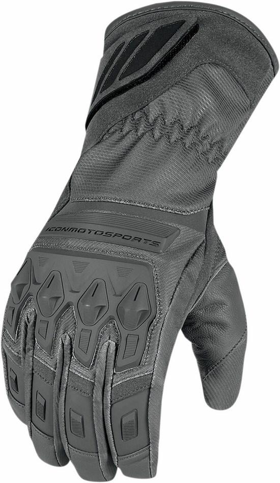 Waterproof Gloves Icon Grey Citadel
