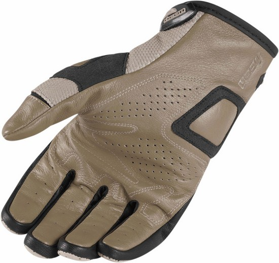Summer Motorcycle Gloves Icon Overlord Resistance battlescar