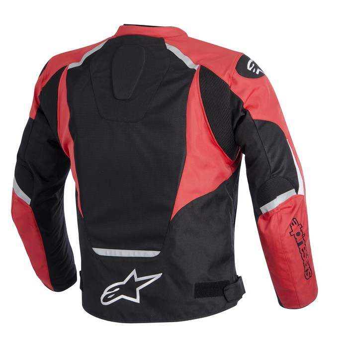 Alpinestars T-Jaws Air jacket black red white