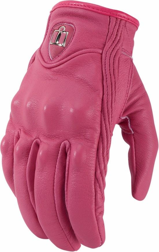 Women leather Gloves Icon Pursuit Squad